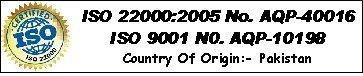 SafeSalt Australia ISO 22000