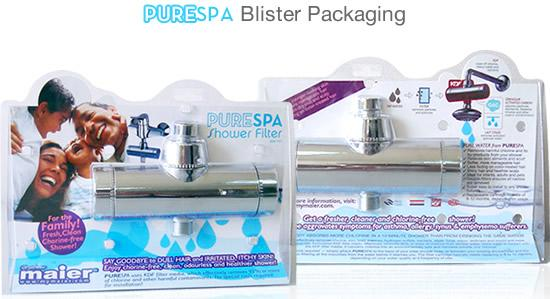 Chlorine Free Shower Filter Packaging